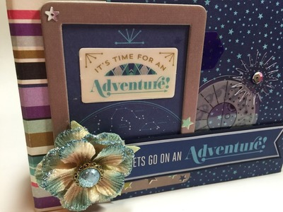 "From start to finish - It's Time for Adventure 4"" by 6"" mini album"