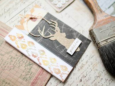 Grateful Card Tutorial for Ellen Hutson