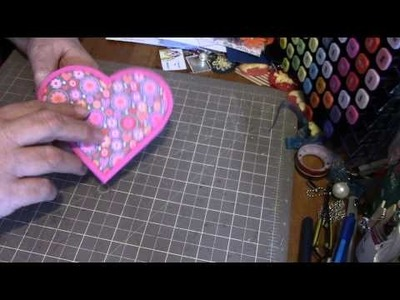 Heart shaped card tutorial
