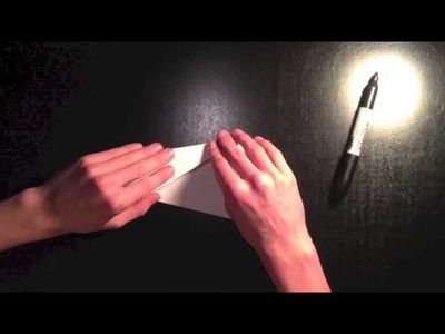 How to make a fast paper airplane