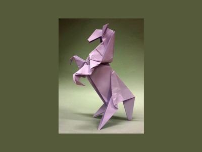 How To Make An Origami Horse Rampant