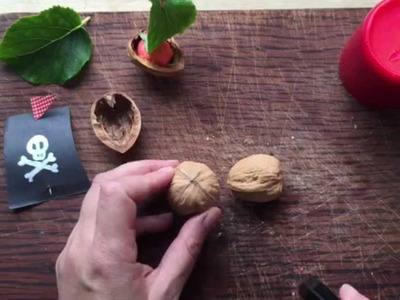 How to Make Walnut Boats - Traditional Kids Crafts