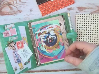My Wallet. Planner set up. Filofax Vintage pocket planner, for on the go  theplannersociety