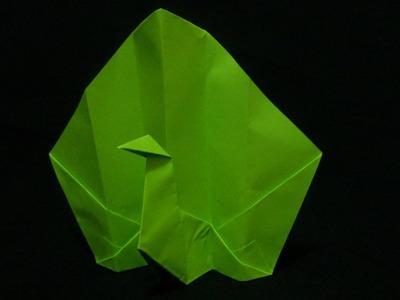 Origami Peacock [Burung Merak] Very Easy   Origami Binatang