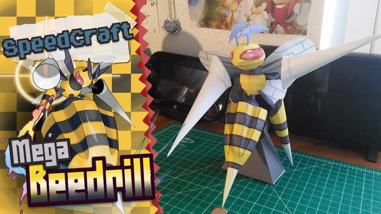 Pokemon Papercraft ~ Mega Beedrill ~