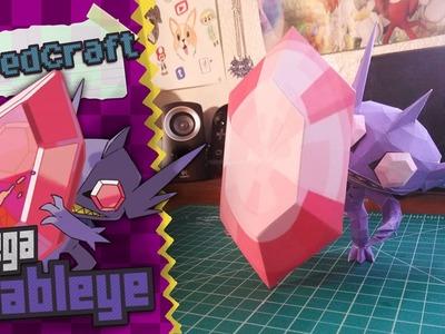 Pokemon Papercraft ~Mega Sableye ~