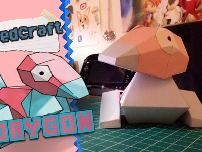 Pokemon Papercraft ~ Porygon ~