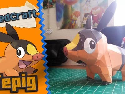Pokemon Papercraft ~ Tepig ~