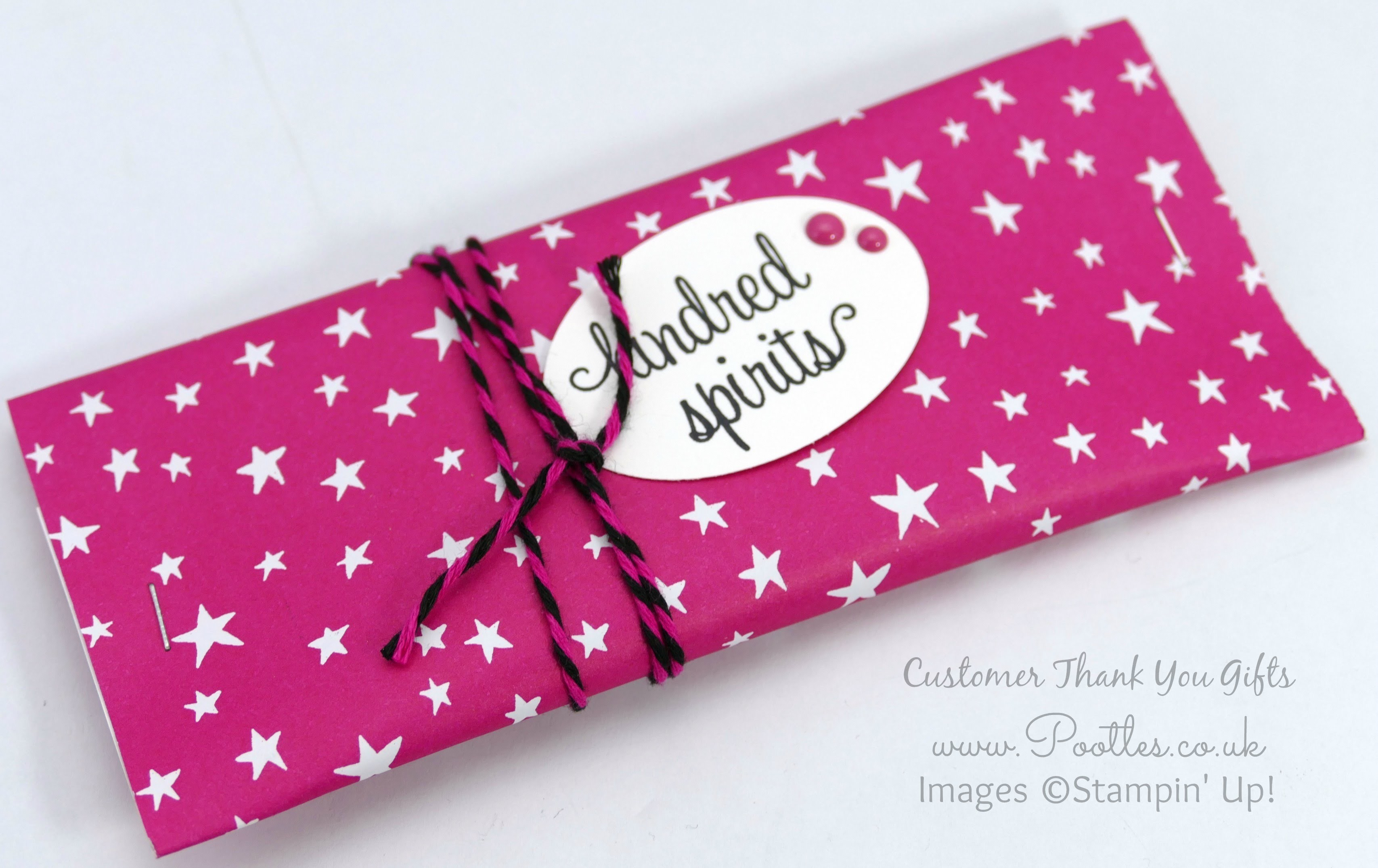 Pootles SpringWatch Customer Thank You Gift Pouches