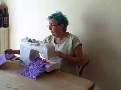 Recycling Fabric Scraps With Bondaweb Part 2