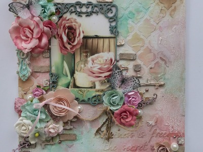 Rose Canvas for Scrap FX