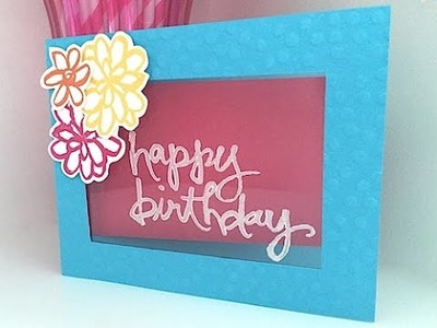 Birthday Greeting Card Scrapbook By Priyanka Varma
