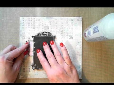 Special Delivery Mixed Media Canvas with Delaina Burns