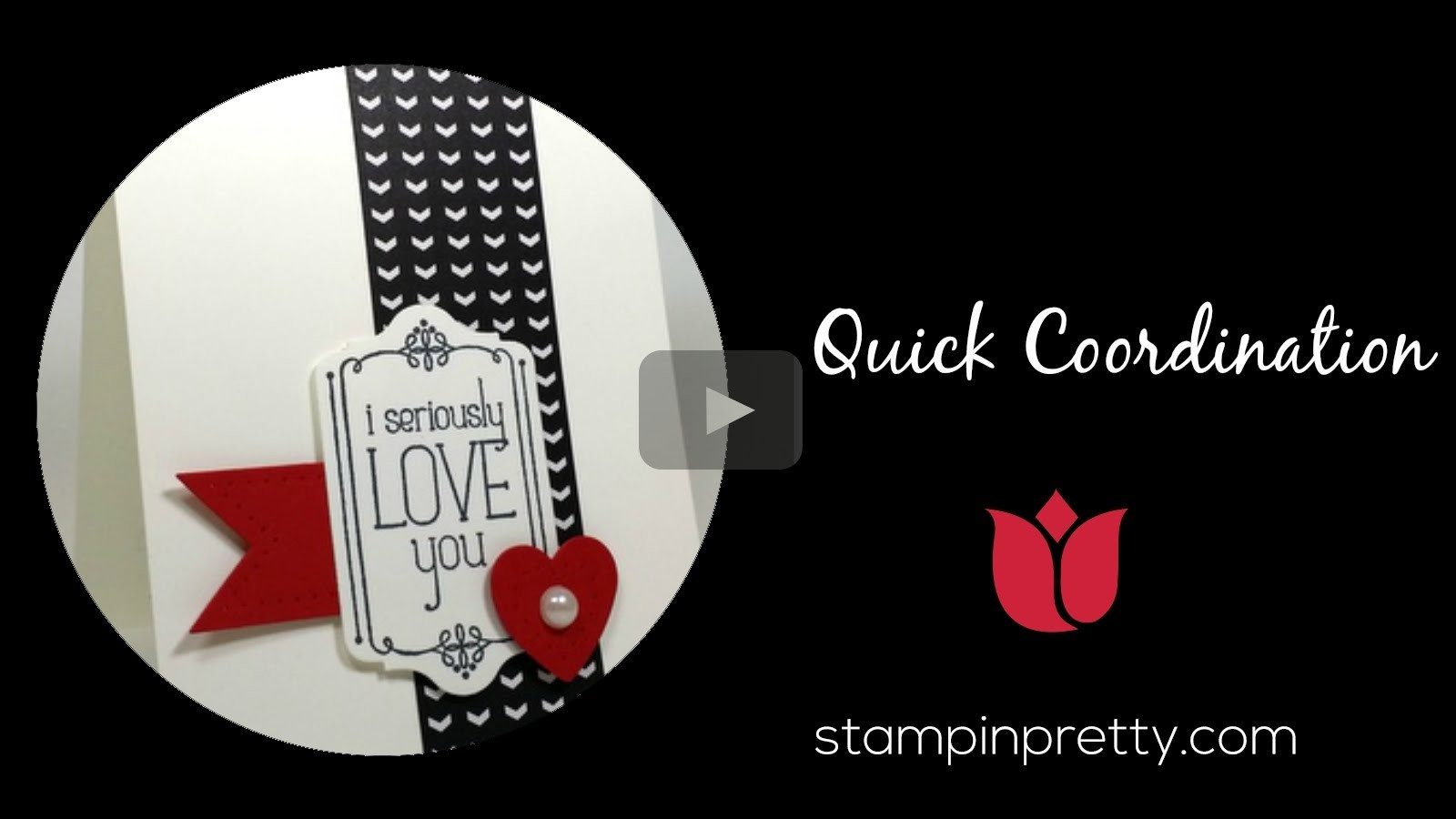 Stampin' Up! Tutorial:  How to Coordinate Quickly