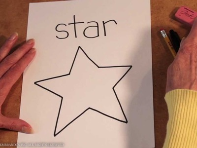 Teaching Kids How to Draw: How to Draw a Star