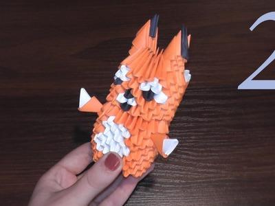 Tutorial Squirrel 3D origami