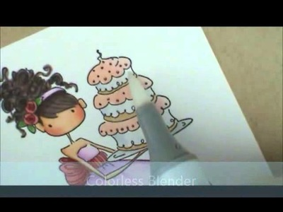 Ava Loves To Celebrate Copic Coloring Card Kit