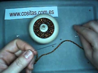 Como Hacer Un Cordón Para Gafas Con Abalorios Marrones
