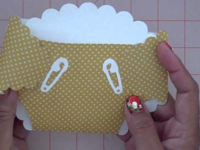 CTMH Artiste Tutorial #4: Diaper Card and Baby Shoe!!!
