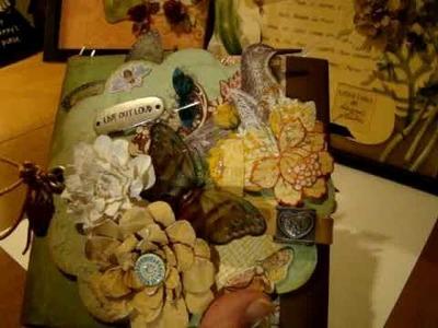 Envelope - Chipboard Mini Album Part 1
