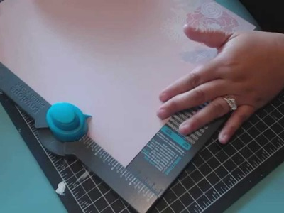 Envelope for your Pocket Letters with the WRMK Envelope Punch Board
