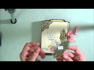 File Folder Album Using We R Memory Keepers Envelope Punch Board