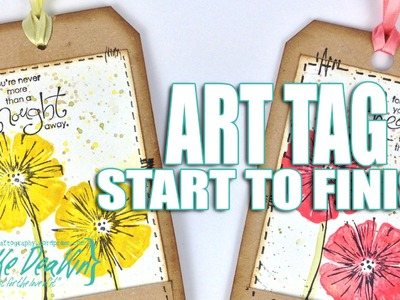 How to: April Art Tag (12 Tags of 2015)