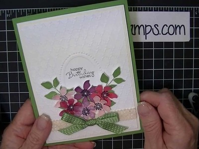 How to Double Emboss with Big Shot Embossing Folders     7-30-13