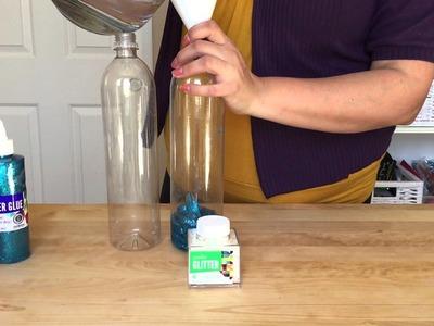 How-to: Glitter Sensory Bottle