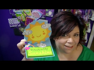 "How to Layer Vinyl Using Cricut Design Space ""You are my Sunshine"""