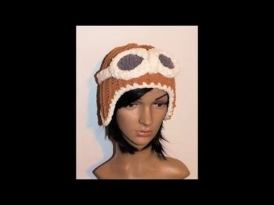 How to Loom Knit Ear Flap Hat