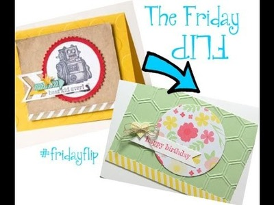 How to Make a Card Your Own, Friday Flip