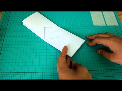 How to make a Paper Wallet (4 Card Holders)