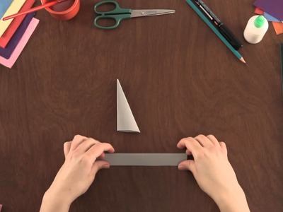 How to Make Paper Kunai Knives : Paper Art Projects