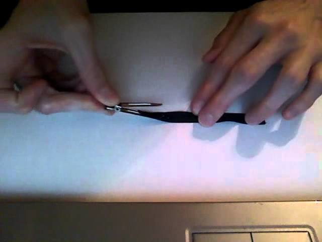 HOW TO: Partially Line an Alligator Clip Tutorial by Just Add A Bow