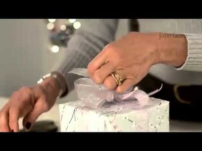 John Lewis: How to wrap your presents beautifully