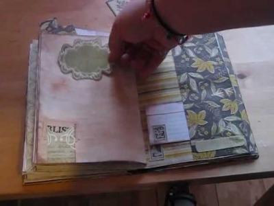 Junk Journal. smash book flip (Home Made)