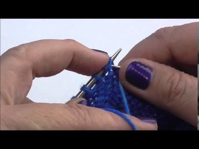 Make one Right and Make one Left Purl Increases with Amy Detjen