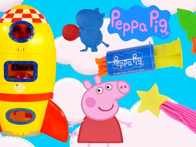 Peppa Pig Space Rocket Dough Astronaut Play Doh Peppa Pig Spaceship Toy Episodes