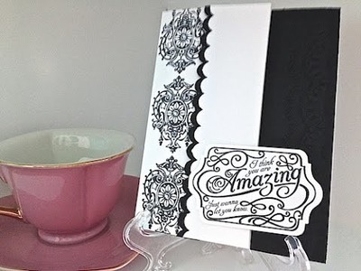Simply Simple FLASH CARD 2.0 - You're Amazing by Connie Stewart