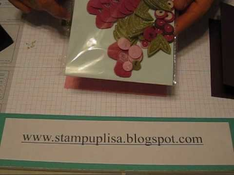 Stampin UP Simple Card Tutorial- mini catalog products