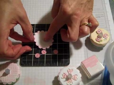 Tea Light Cake Decorating