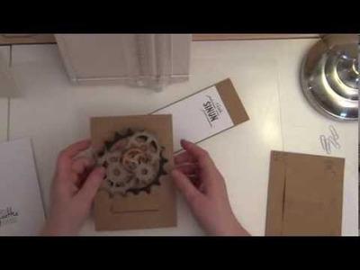 TUTORIAL - SURPRISE POP-UP EASEL CARD (special card folding technique)