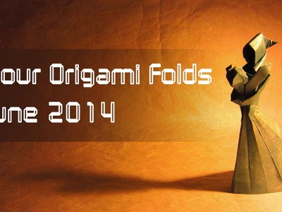 "Your Origami Folds June 2014: ""Mother and Child"" by Stephen Weiss"