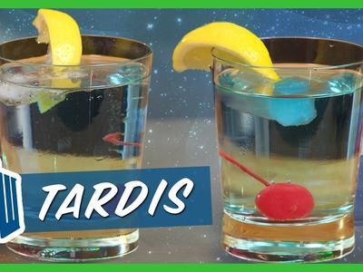 DOCTOR WHO GIN AND TONIC | Cooking 4K | Strawburry17