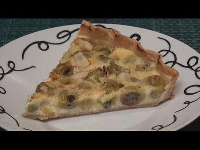 Gooseberry Cheese Tart Recipe