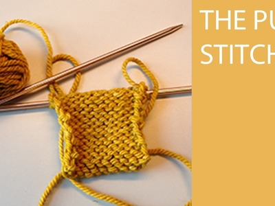 How to Knit - The Purl Stitch for Beginners