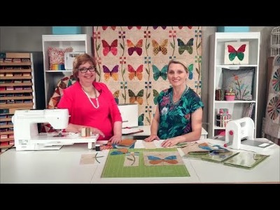 How to Make a Butterfly Quilt by Edyta Sitar - Plus FREE Quilt Pattern