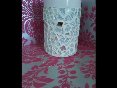 How to Make a Decorative Mosaic Vase