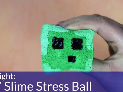 How To Make A DIY Slime Stress Toy